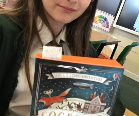 Reading with a passion in Y6