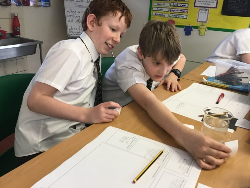 We are experimenting in Year Six…